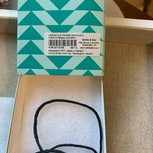 Stella & Dot Jewelry - NWT Stella & Dot Versatile Fringe Necklace